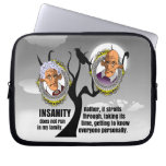 Insanity Laptop Computer Sleeves