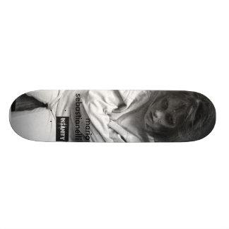 """insanity"" Mario Sebastianelli-Dead Moon series Skateboard Deck"
