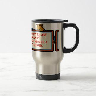 insanity 15 oz stainless steel travel mug