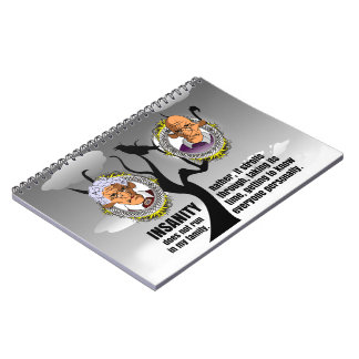 Insanity Spiral Note Books