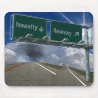 Insanity or recovery, AF001101 Mouse Pad