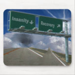 Insanity or recovery, AF001101 Mousepad