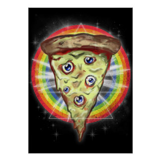 Insanity pizza poster