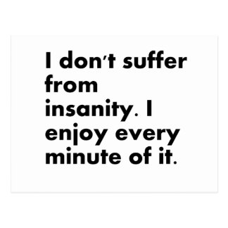 Insanity Post Card