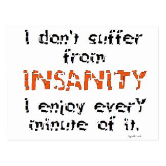 Insanity Postcards