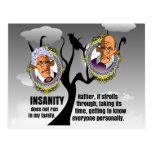 Insanity Postcard