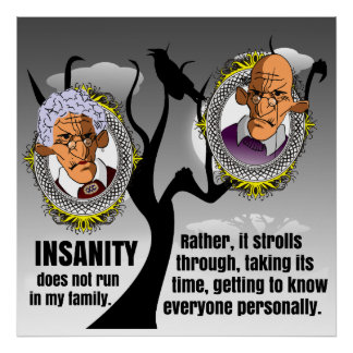 Insanity Poster