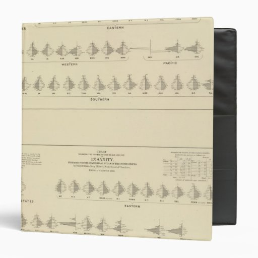 Insanity, Statistical US Lithograph Binders