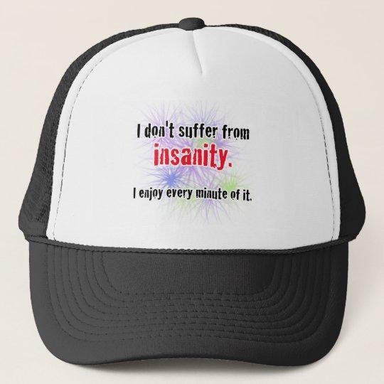 insanity trucker hat