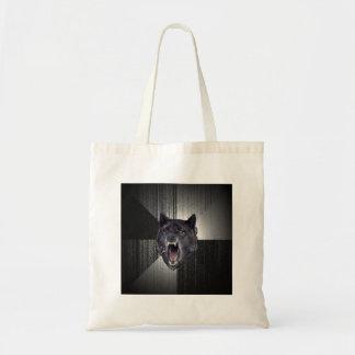 Insanity Wolf Advice Animal Meme Tote Bag