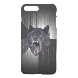 Insanity Wolf Meme Funny Memes Black Wolf iPhone 7 Plus Case