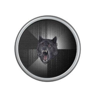 Insanity Wolf Meme Funny Memes Black Wolf Speaker
