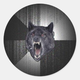 Insanity Wolf Stickers