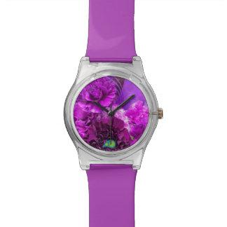 Insano púrpura relojes
