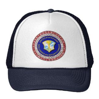 INSCOM SSI and Code Wheel Trucker Hat
