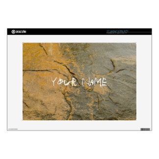 "inscribe your name 15"" laptop skin"