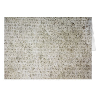 Inscripción en la lengua de Kushana escrita Felicitaciones