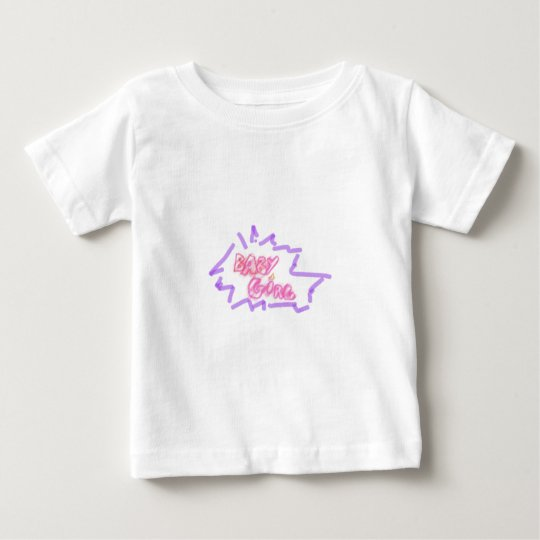 Inscription baby girl baby T-Shirt
