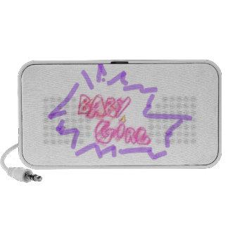 Inscription baby girl iPhone speaker