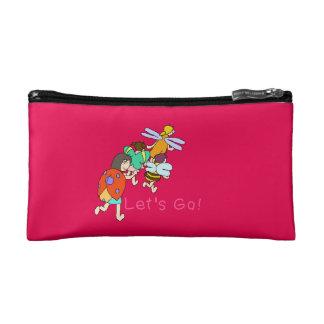 Insect 4 sisters minikosumebatsugu 1-40 makeup bag