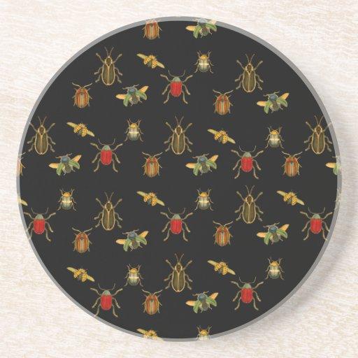 Insect Argyle Coaster