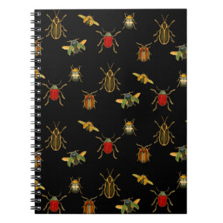 Insect Argyle Notebook