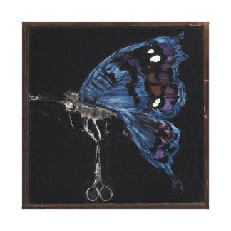 Insect Asides 1--Balancing Act Canvas Print