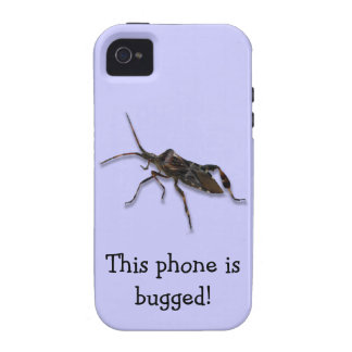 Insect Bug Humor iPhone Case iPhone 4 Case