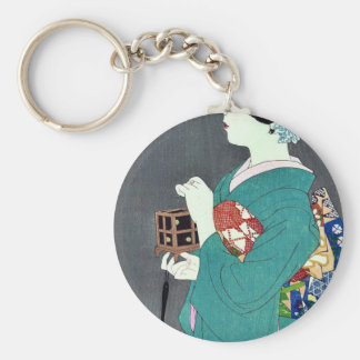 Insect cage by Ito, Shinsui Ukiyoe Keychains