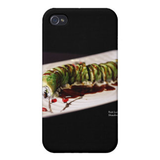 (Insect) Catipillar Sushi Gifts & Collectible Cover For iPhone 4