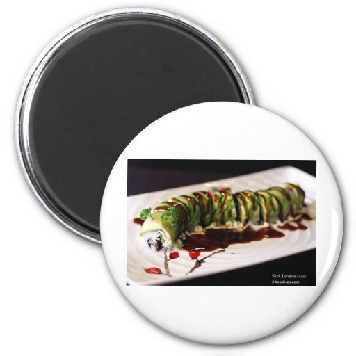 (Insect) Catipillar Sushi Gifts Tees & Collectible Refrigerator Magnets