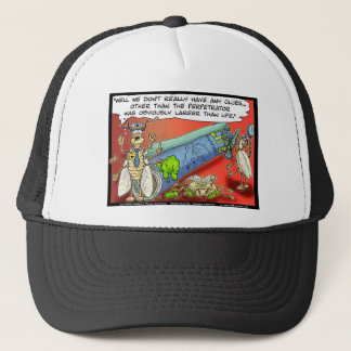 Insect Crimes Funny Gifts Tees & Collectibles Trucker Hat