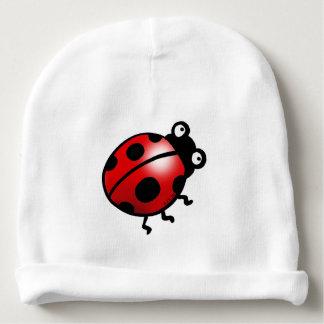 insect ladybug cartoon baby beanie