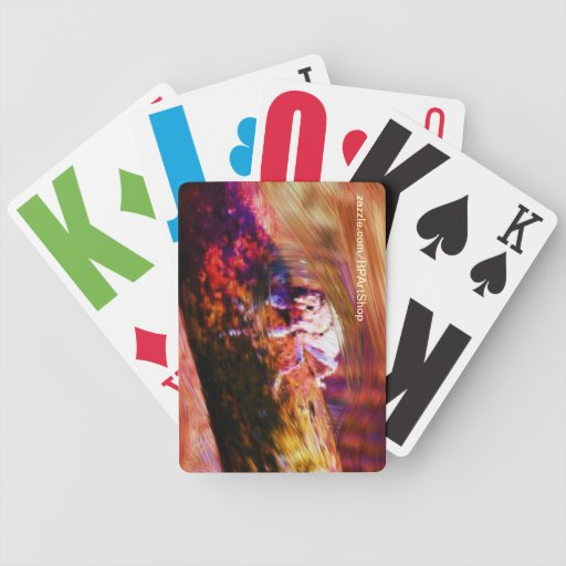Insect Log Playing Cards