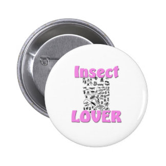 Insect Lover Pinback Button