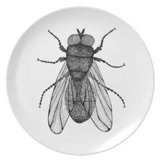 Insect Melamine Plate