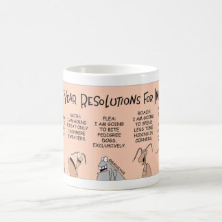 Insect New Year Resolutions Coffee Mug