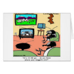 Insect Parents Funny Cartoon Greeting Card