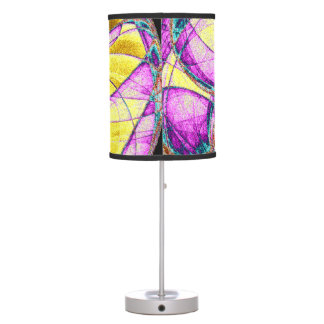 Insect Within Fractal Table Lamp