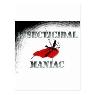 Insecticidal Maniac (gray) Postcard
