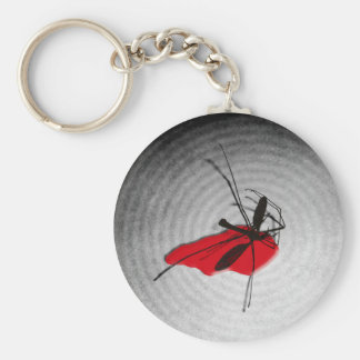 Insecticide (gray) keychain