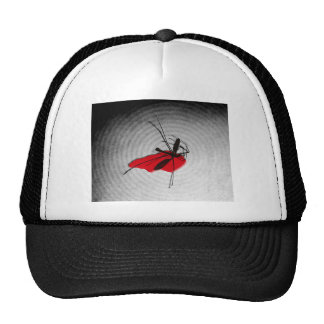 Insecticide (gray) trucker hat