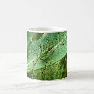 Insecto 2 feos (araña 8792) taza clásica