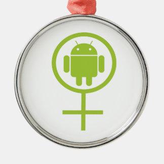Insecto androide femenino Droid (del analista de p Ornaments Para Arbol De Navidad
