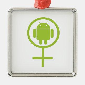 Insecto androide femenino Droid (del analista de p Adorno