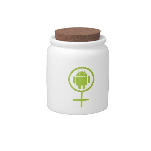 Insecto androide femenino Droid (del analista de p Plato Para Caramelo
