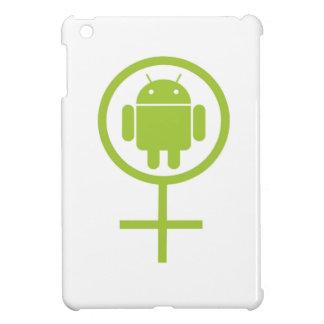 Insecto androide femenino Droid (del analista de p iPad Mini Cárcasas