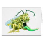 Insecto apagado tarjetas