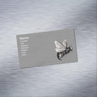 Insecto de alas gótico espeluznante del cráneo de tarjetas de visita magnéticas (paquete de 25)