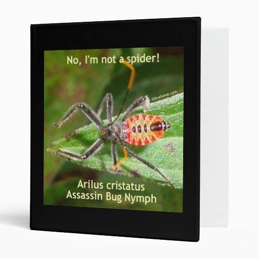"""Insecto de asesino de la araña roja carpeta 1"""""""